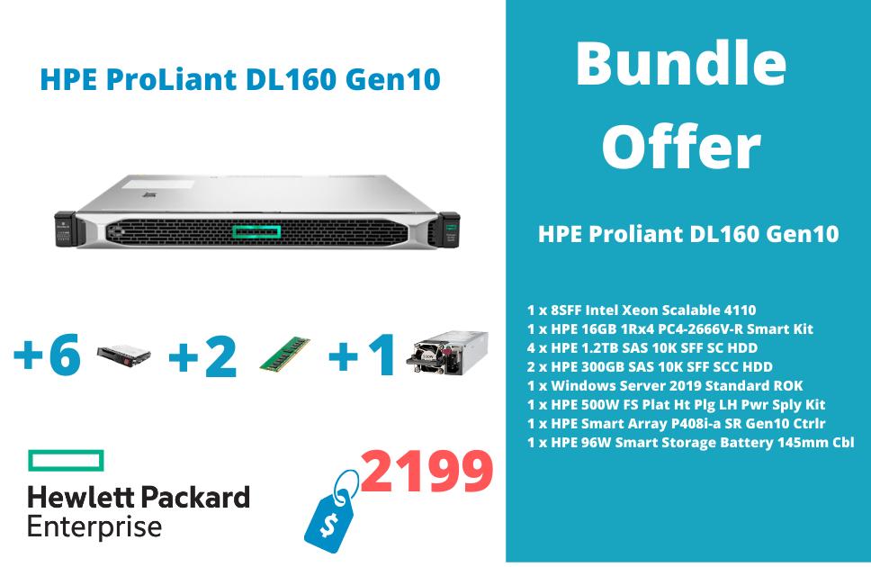 HPE ProLiant DL160 Gen10 4110