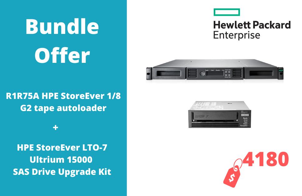 1 HPE StoreEver MSL LTO-7 Ultrium 15000 SAS Drive Upgrade Kit